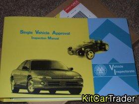 KIT CAR BUILDER - SINGLE VEHICLE APPROVAL INSPECTION MANUAL