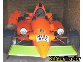 Road Legal SVA'ed 2 Seater F1 style car