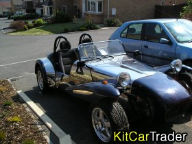"Robin Hood ""7"" style kit car for sale - 80ish% complete"