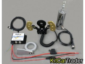 Motorcycle powered cars clutchless & electric gear shifters