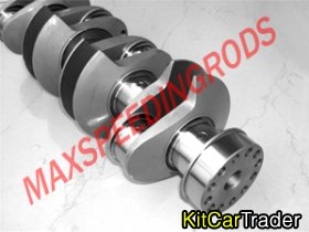 Ford Cossflow Billet crank and Forged rods