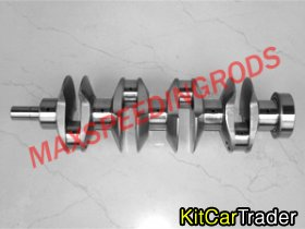 Ford BDA Billet Crank and Rods --- 1800HP
