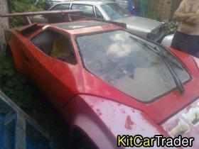 lamborghini countach replica 1974 kit car shell very rare
