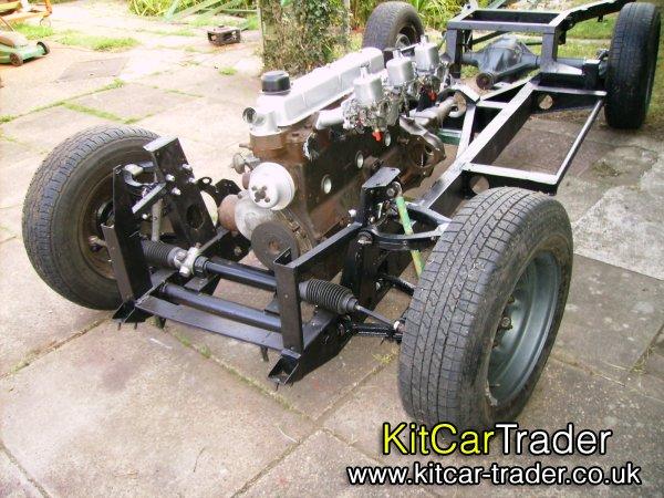 Scimitar SE4 chassis for kit car (Formosa, Sammio, Tribute etc)