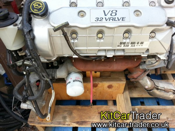 FORD MUSTANG V8 4.6 QUADCAM COBRA ENGINE 325 BHP NEW/OLD STOCK