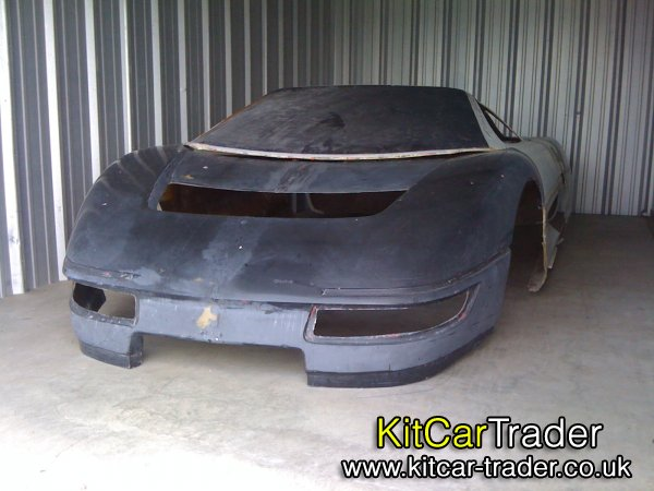 WRAITH M4S FIBERGLASS BODY SHELL ONLY