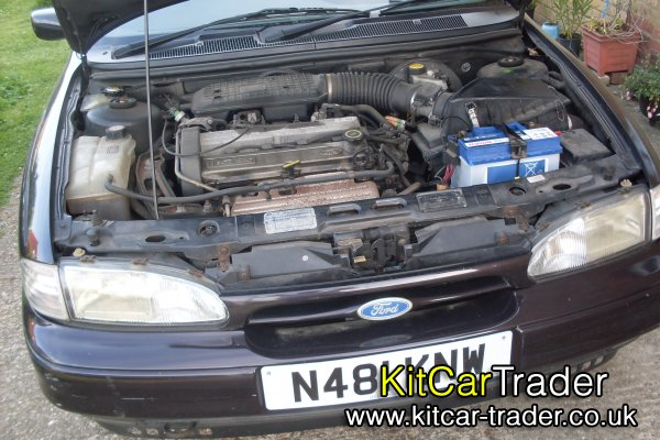 2.0 Zetec Silver Top Engine conversion 65k miles running in car with old MOT's