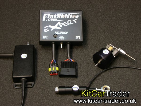 Full throttle clutchless gearshifts	Quickshifter kits
