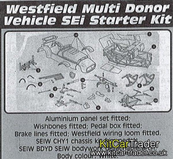 Westfield Multi Donor Vehicle SEi Starter Kit