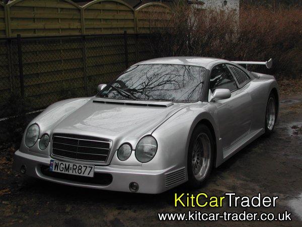 Mercedes CLK GTR Replica Mould